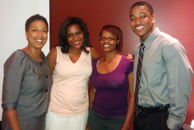 TECH CORPS/NSBE Jr. Chapter Seniors and TC National Director (left) @ Celebration Banquet