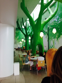 The Forest room in Nationwide Childrens