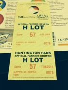 Clippers Parking Pass