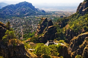 The magical city of Tepoztlan, Mexico, where I will be spending the next year.