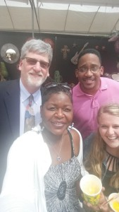 The Per Scholas group (minus a few members) at the Columbus Arts Festival